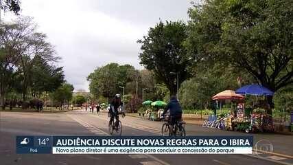 Prazo para participar de audiência pública sobre Ibirapuera pela internet acaba domingo