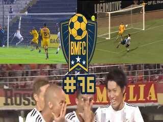BMFC #76: Tipo Arrascaeta! Assista golaços de bicicleta no Japão, EUA e no Peru