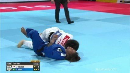 Rafaela Silva perde para japonesa na semifinal do Mundial de judô