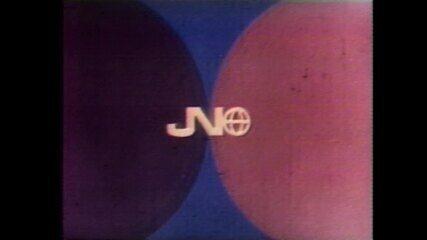 Relembre as aberturas antigas do 'Jornal Nacional'