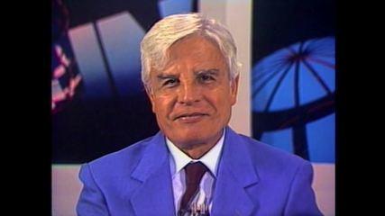 Cid Moreira se despede do 'Jornal Nacional'