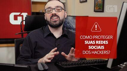 Como proteger as redes sociais de hackers e vírus?