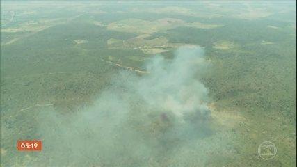 Exército sobrevoa terras indígenas no Maranhão para mapear áreas atingidas pelas queimadas