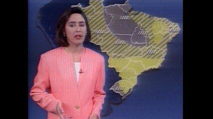 Os bastidores da previsão do tempo no Jornal Nacional
