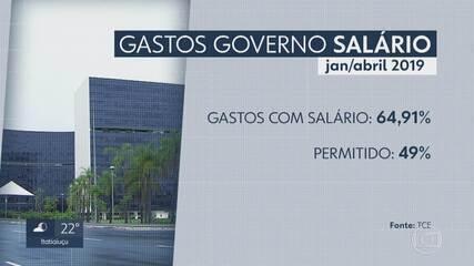 Tribunal de Contas de MG emite alerta ao governador Zema por gastos excessivos