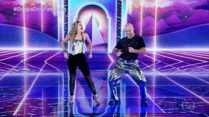 Junior Cigano dança com Ana Paula Guedes