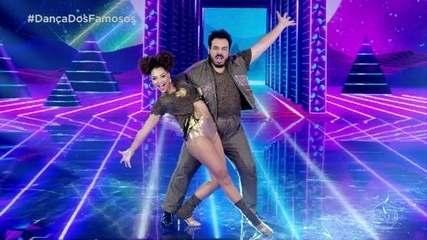Luis Lobianco dança com Franciele Pimenta