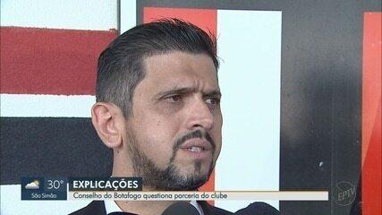 Conselho do Botafogo-SP questiona parceira do clube com a empresa Trexx