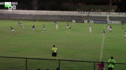 Os gols de Altos 1 x 2 Piauí pelas semifinais do Piauiense sub-17