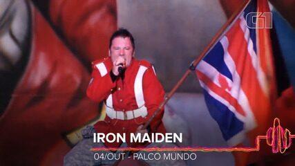 Iron Maiden: Como será o show no Rock in Rio 2019?