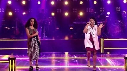 """Karine Rayne e Marta Souza cantam """"Espelho"""""""