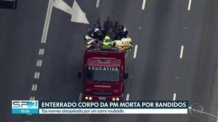 Enterrado o corpo da PM morta por bandidos