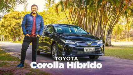 Teste: Novo Corolla híbrido, um sedã médio que faz mais de 16 km/l na cidade