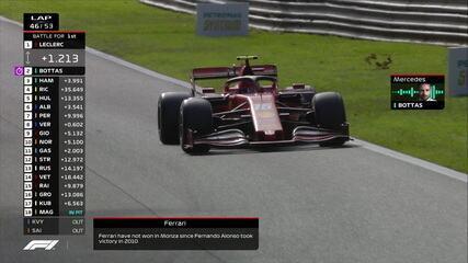 """Mercedes para Valteri Bottas: """"Vai lá que essa vitória é sua"""""""