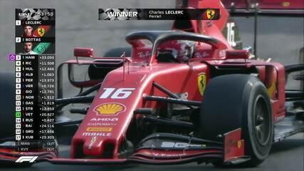 Charles Leclerc vence GP de Monza de Fórmula 1