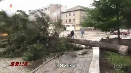 Tufões causam mortes e deixam rastro de destruição na Ásia
