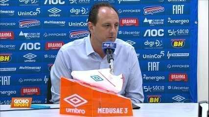Rogério Ceni desabafa depois de derrota do Cruzeiro