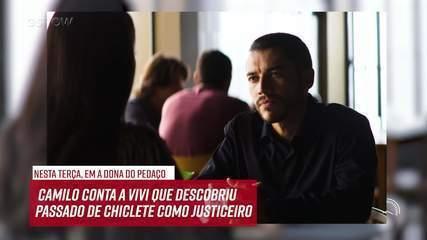 Resumo do dia - 10/09 – Camilo conta a Vivi que descobriu o passado de Chiclete