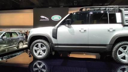 Salão de Frankfurt 2019: Land Rover relança o Defender