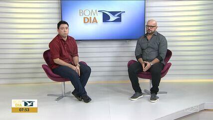 Presidente do Sampaio, Sérgio Frota, foi entrevistado no Bom Dia Mirante