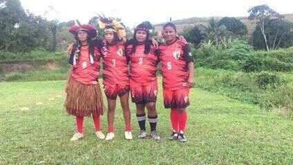 Índias do Wassu Cocal são fãs das alagoanas Marta e Geyse
