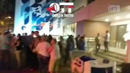 Incêndio atinge hospital na Tijuca