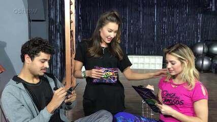 Matheus Abreu e Larissa Lannes respondem ao quiz de afinidade no 'Dança dos Famosos'