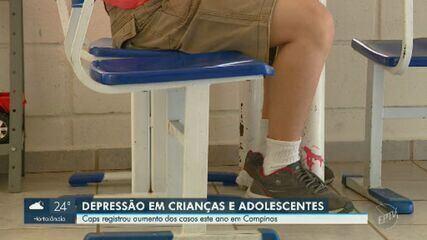 Caps registra aumento de atendimentos a crianças com depressão em Campinas
