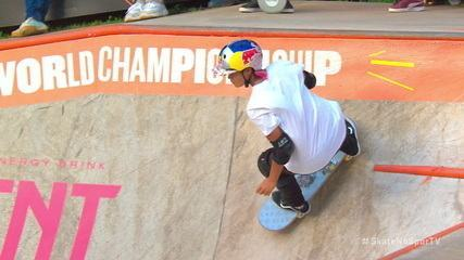 Sakura Yosozumi é segunda colocada no Campeonato Mundial de Skate Park em São Paulo