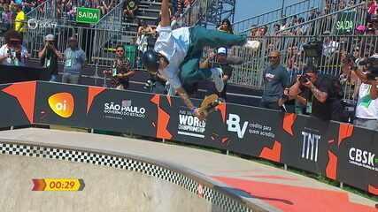 Pedro Quintas fica em terceiro no Campeonato Mundial de skate Park