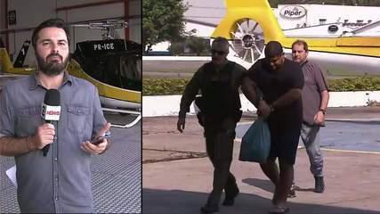 Homem procurado por tráfico internacional de drogas é levado para São Paulo