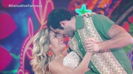 Kaysar Dadour dança com Mayara Araújo