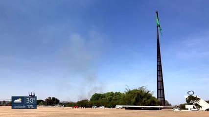 Por que a secura é tão grande em Brasília?