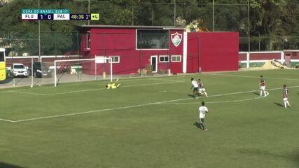 Melhores momentos: Fluminense 1 x 0 Palmeiras pela semifinal da Copa do Brasil sub 17