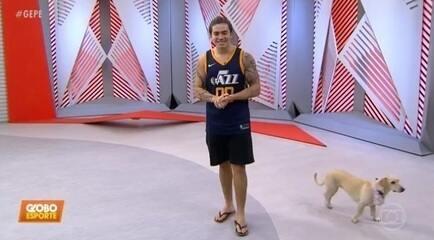 Whindersson Nunes pede dinheiro para o CT do Vasco no Globo Esporte Pernambuco