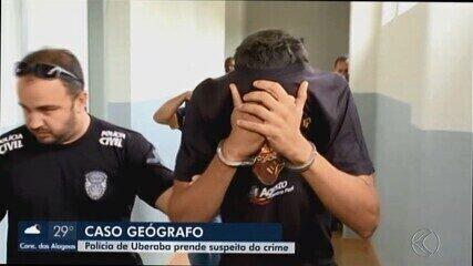 Polícia Civil prende suspeito de matar geógrafo em apartamento de Uberaba