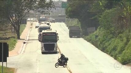 Cai o número de mortes e acidentes nas rodovias federais, mas o total ainda é alarmante