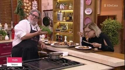 Toque do Ravioli: Macarrão com Frango e Azeitonas