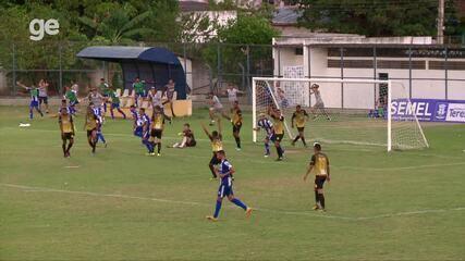 Os gols de Timon 2 x 2 Oeirense pela terceira rodada da Série B do Piauiense