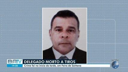 Delegado é morto a tiros durante tentativa de assalto em Feira de Santana