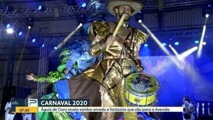 Águia de Ouro apresenta samba-enredo para o carnaval 2020