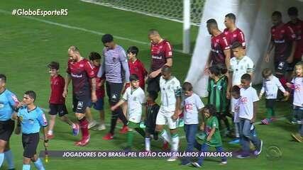 Brasil de Pelotas atrasa pagamentos dos salários dos jogadores