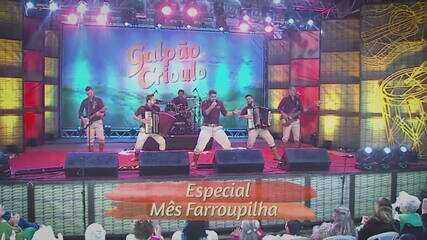 Confira as atrações do Galpão Crioulo deste domingo (28)
