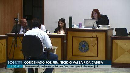Condenado por feminicídio deve deixar a prisão em Cascavel