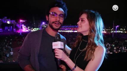 Sophia Abrahão e Sergio Malheiros dão detalhes dos looks escolhidos pro Rock in Rio
