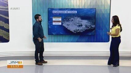 Meteorologista do AM explica forte chuva em Manaus