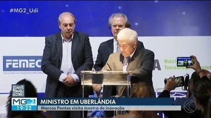Ministro Marcos Pontes visita Uberlândia e assina acordo para esporte paralímpico