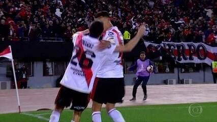 River Plate venceu o Boca Juniors e está perto da final da Copa Libertadores