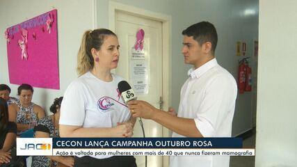 Cecon lança campanha Outubro Rosa com foco em mulher com mais de 40