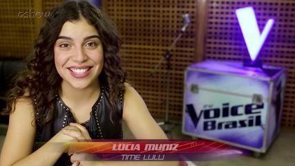 Confira a trajetória de Lucia Muniz no The voice Brasil